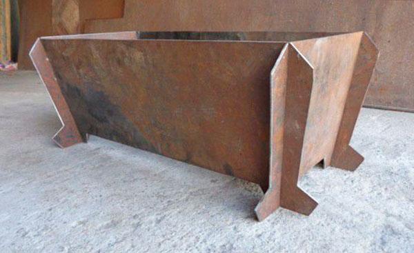 разборный мангал из металла