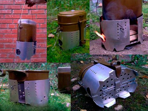 печка для котелка