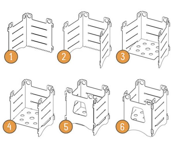 схема сборки щепочницы