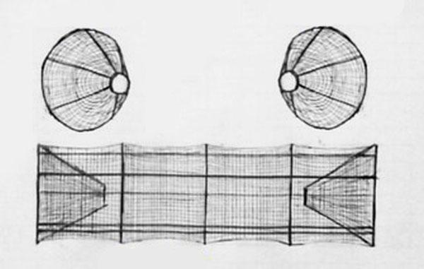 раколовка из сетки чертежи