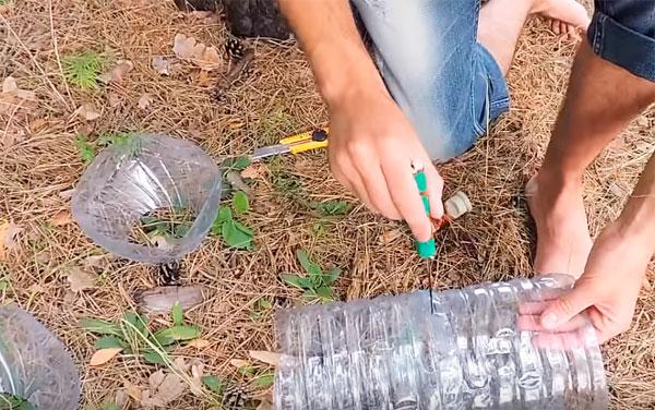 изготовление раколовки из бутылок по 5 литров
