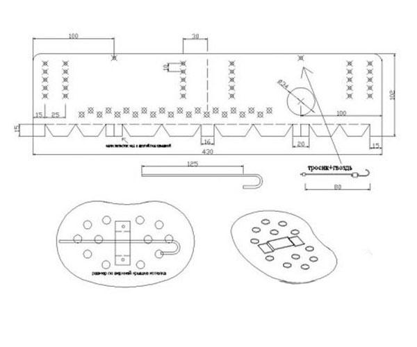 щепочница для армейского котелка чертежи