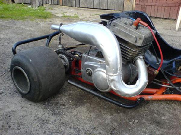 картинг из двигателя мотоцикла