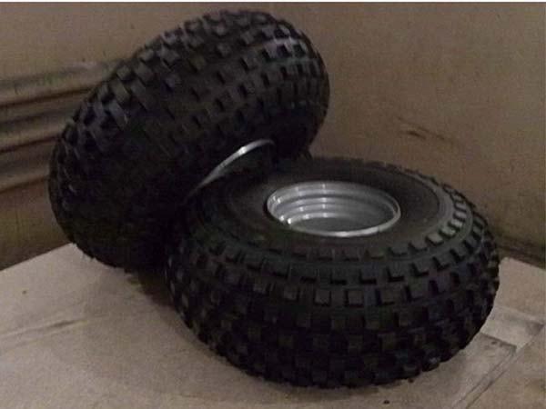 колёса для мини вездехода