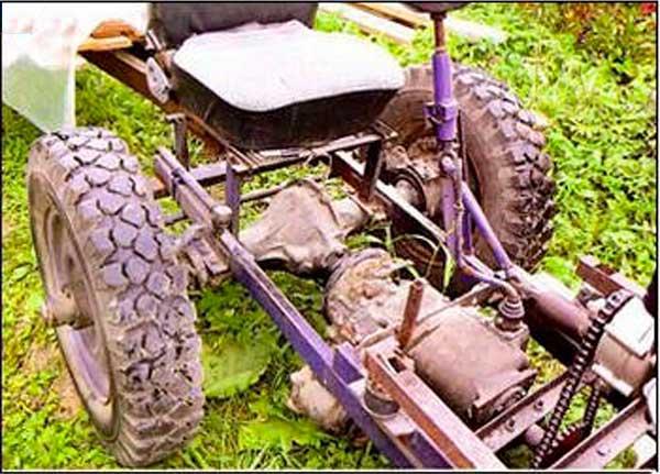 Самоделки трактора своими руками фото 345