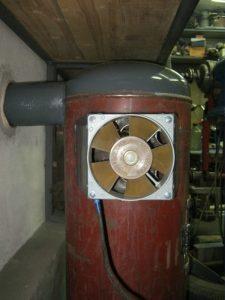 Печь отопления для гаража своими руками 14