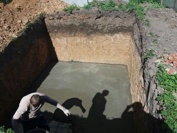 стяжка для погреба