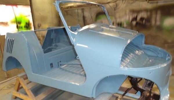 СМЗ с3а реставрация автомобиля