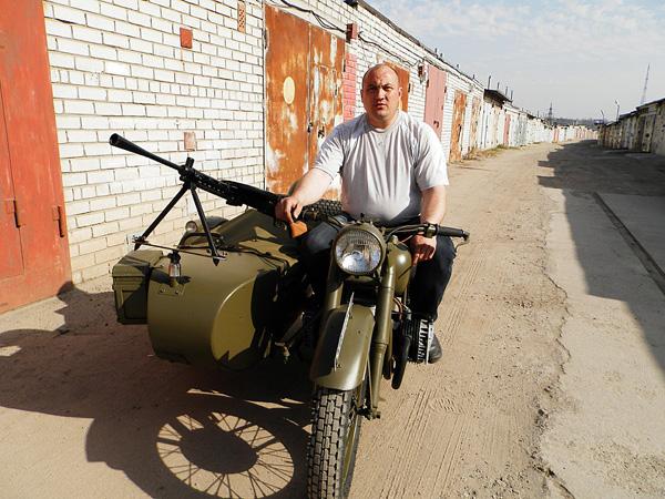 мотоцикл 1941 года
