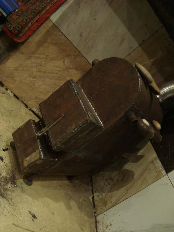 отопление гаража самодельной печью на дровах