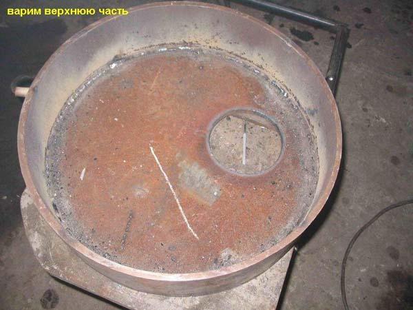 печь капельного типа