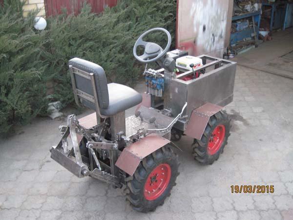 подробная сборка трактора