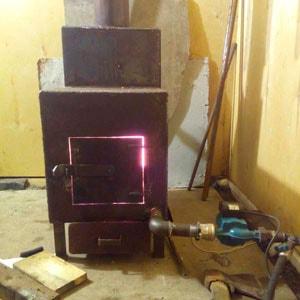 система отопления гаража