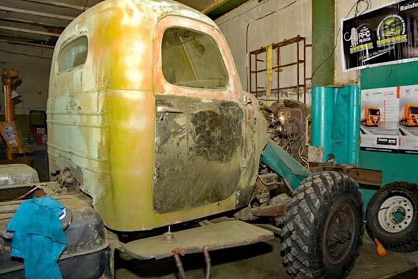 реставрация автомобиля зил
