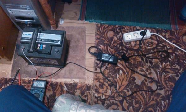 самодельное зарядное для аккумулятора авто