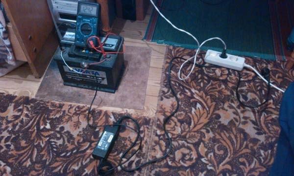 зарядное устройстов из подручных средств