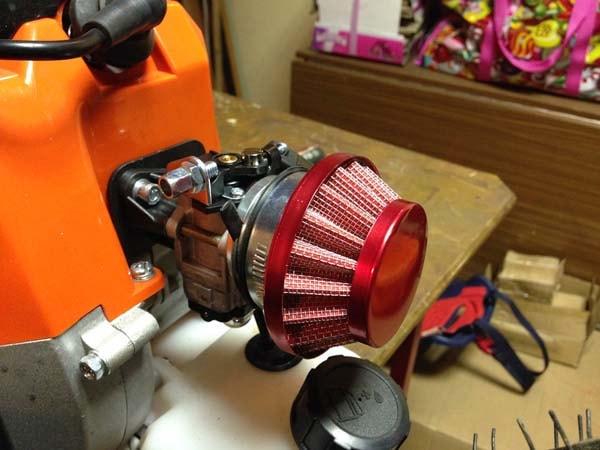 мотор от бензокосы