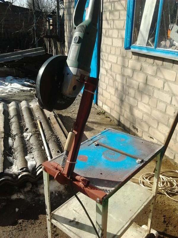 отрезной станок из болгарки
