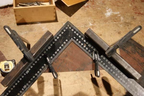 Угловая струбцина для сварки чертежи