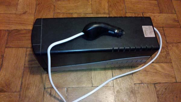 инвертор сделанный из ибп компьютера