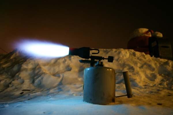 модернизация бензиновой паяльной лампы