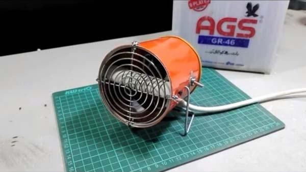 samodelnuy obogrevatel 12 volt 1 - Нагревательный элемент на 12 вольт своими руками