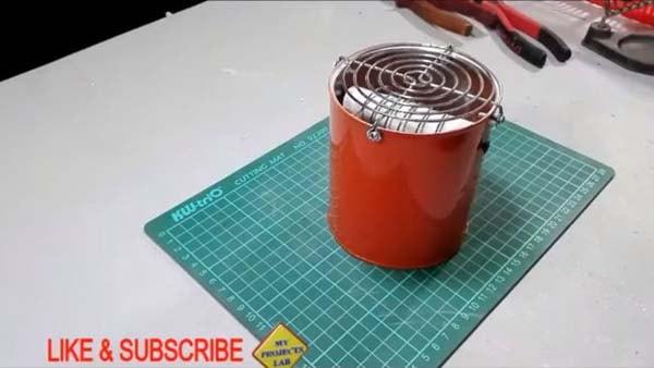 изготовление обогревателя в автомобиль 12 вольт