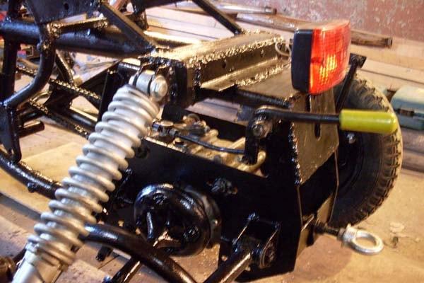 редуктор от мотороллера на трицикл