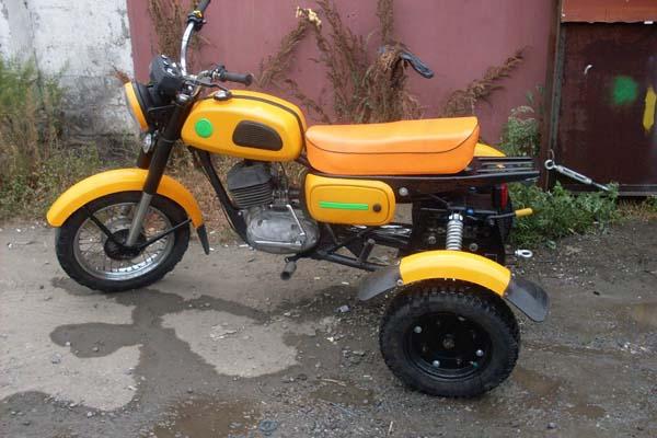 трёхколёсник самодельный