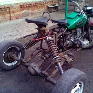 samodelnyj tricikl iz motocikla 15 - Трицикл из мотоцикла днепр
