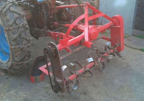 культиватор для трактора самодельный