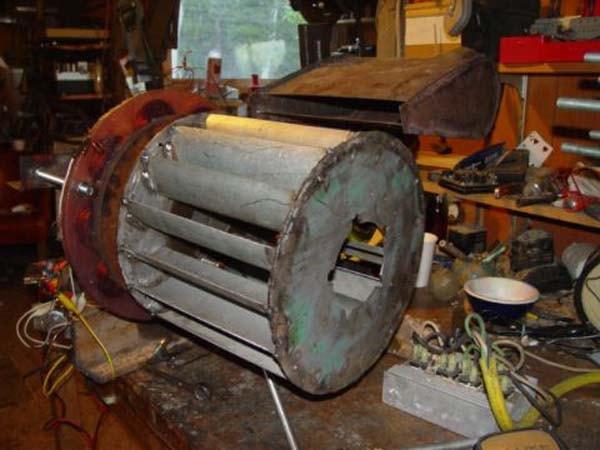 Турбина с генератором для гэс