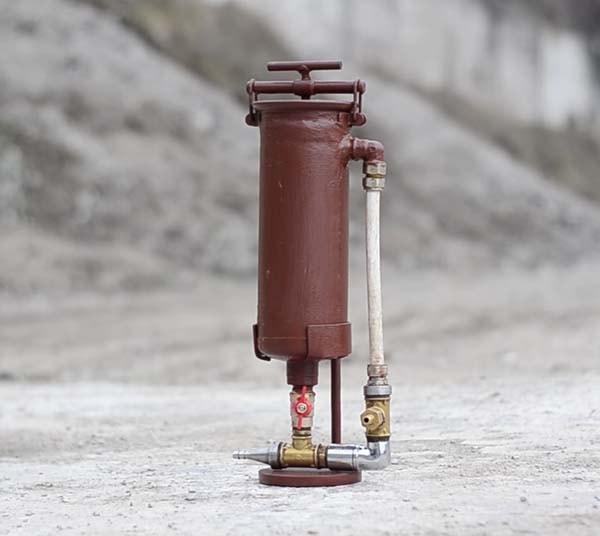 Пескоструйный аппарат из огнетушителя