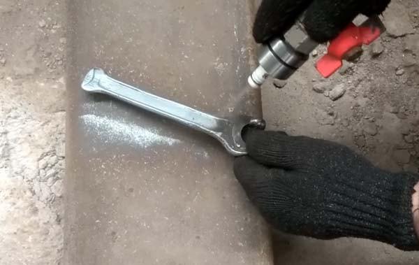 Пескоструйный аппарат