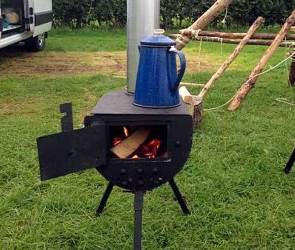 печь для дачи