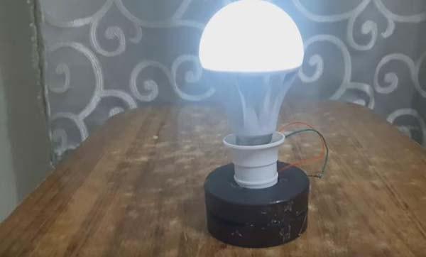 фонарик самодельный
