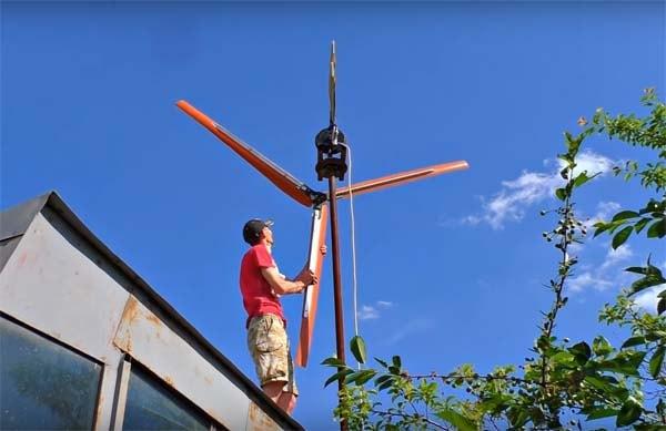 самодельный ветрогенератор
