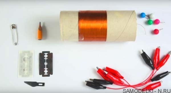 самодельный детекторный радиоприёмник