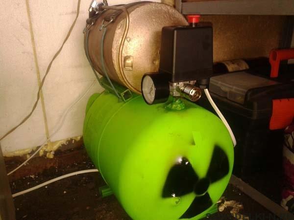 Самодельный компрессор сделанный из холодильника
