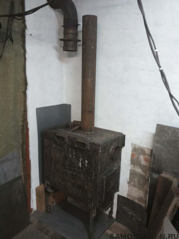 печь в гараж