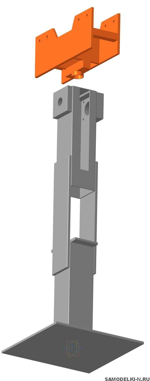 3 D модель трубогиба