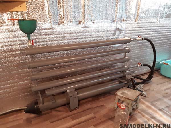 электро отопление гаража