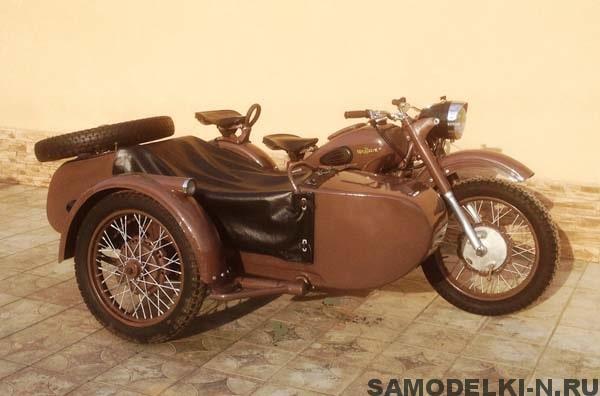 мотоцикл Урал М-62 реставрация