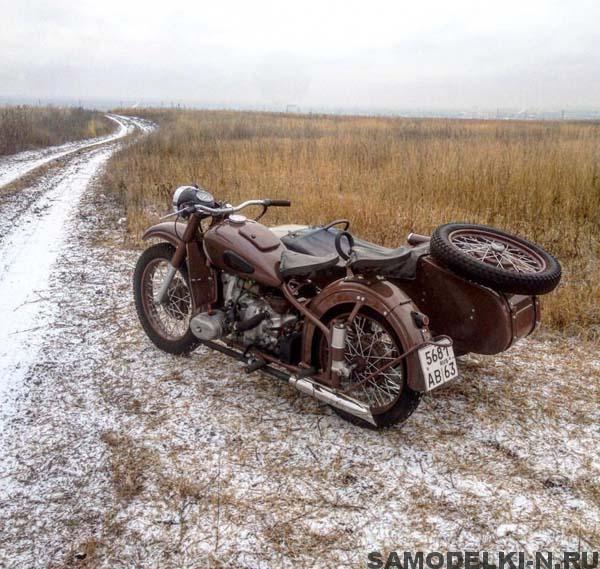 мотоцикл Урал М-62 фото
