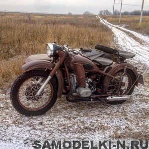 мотоцикл М 62