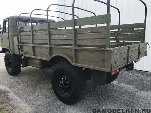 грузовик ГАЗ 66 с консервации