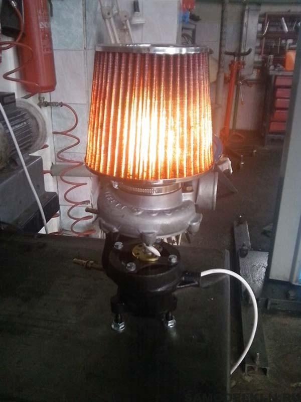 самодельный светильник