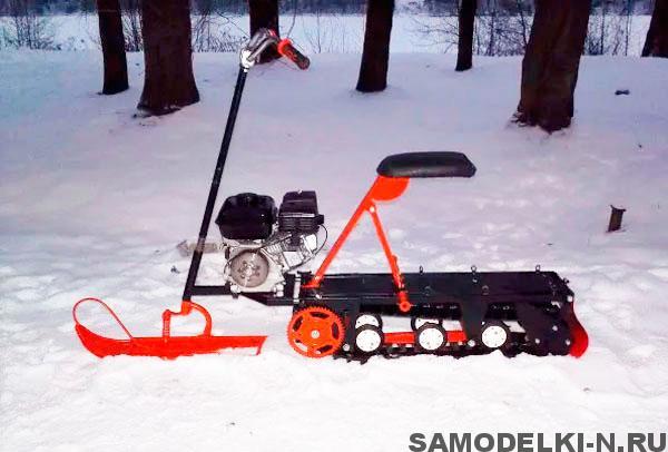 снегокат с мотором