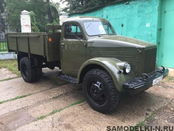 реставрация ГАЗ 51