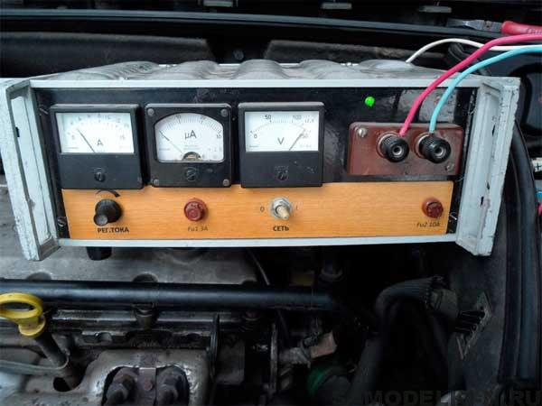 самодельное зарядное устройство аккумулятора